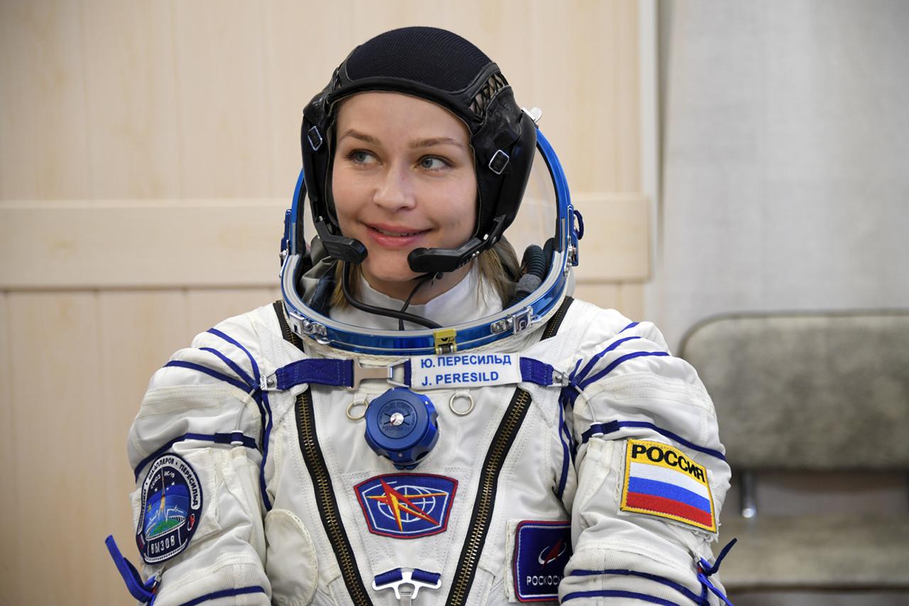 Yulia Peresild (Actress), Soyuz MS-19