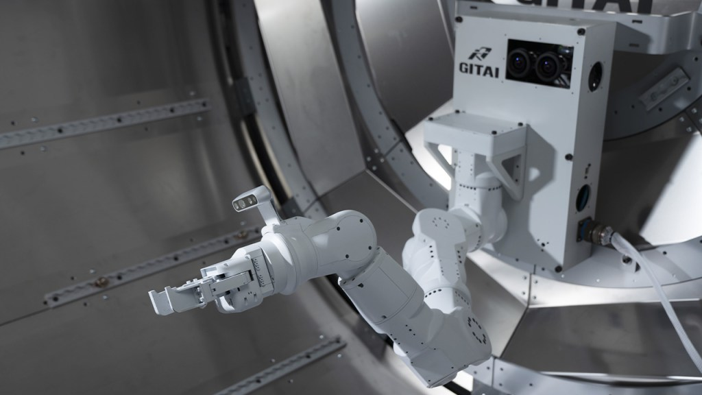 Nanoracks-GITAI Robotic Arm, CRS-2 SpX-23