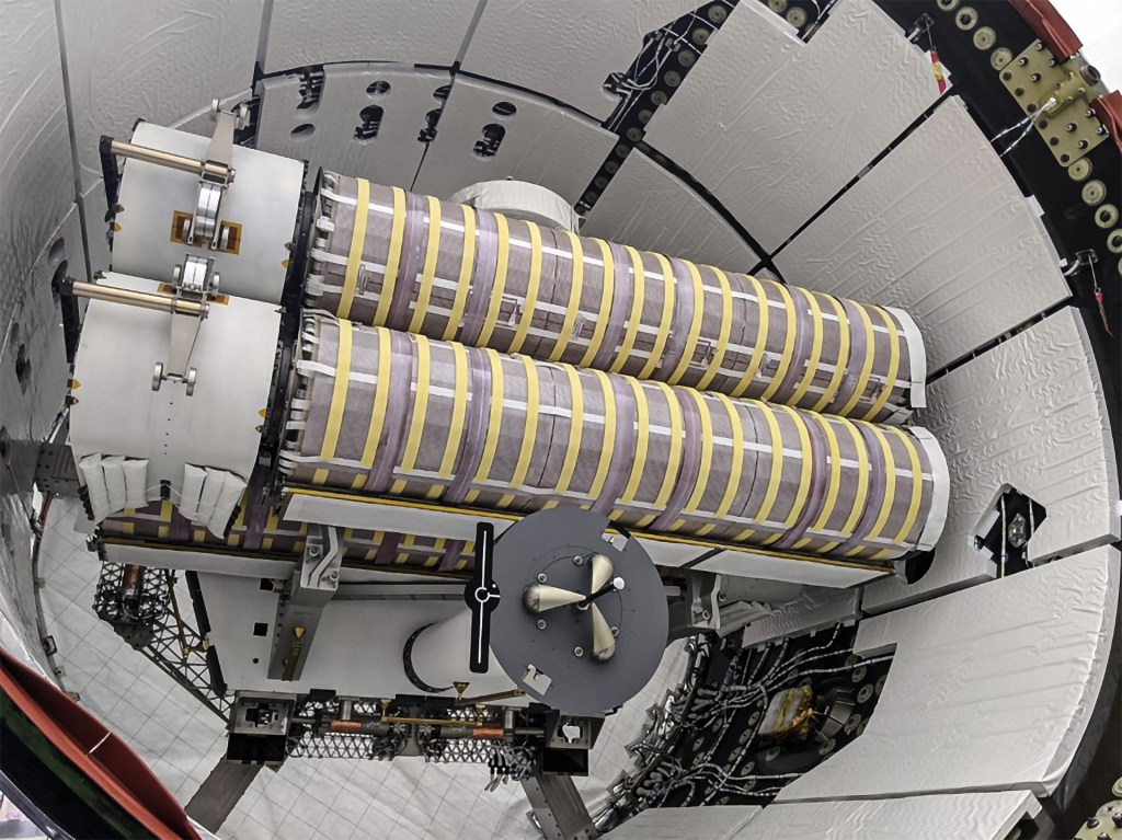 New solar arrays (Roll Out Solar Arrays (iROSA)) that CRS-22 mission will bring to the ISS
