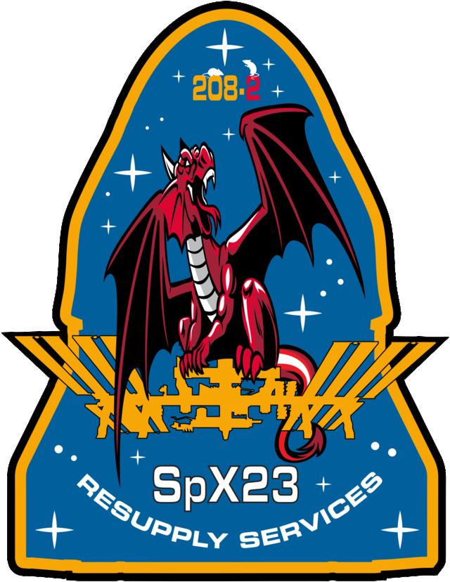 CRS-2 SpX-23 mission patch